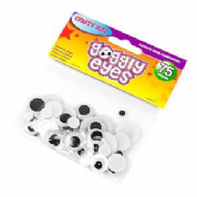 Crafty Bitz Assorted Goggly Eyes 75 pack